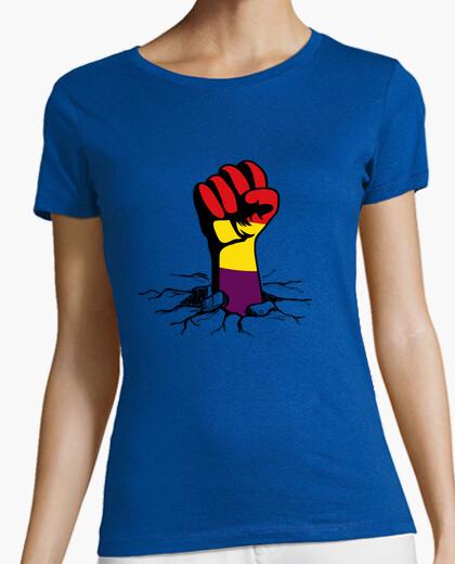 T-shirt pugno repubblicana (donna)