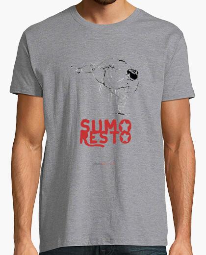 Tee-shirt puis reposer sumo