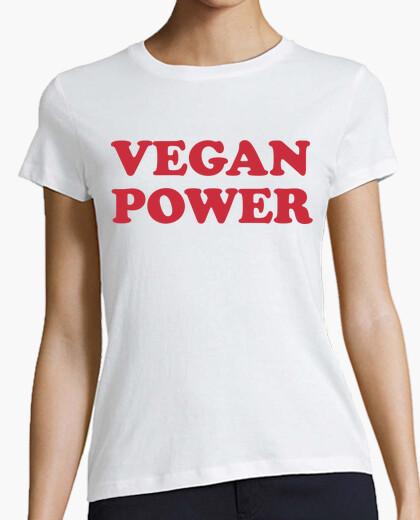 Tee-shirt puissance végétalienne