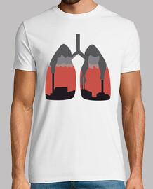Pulmones humeantes