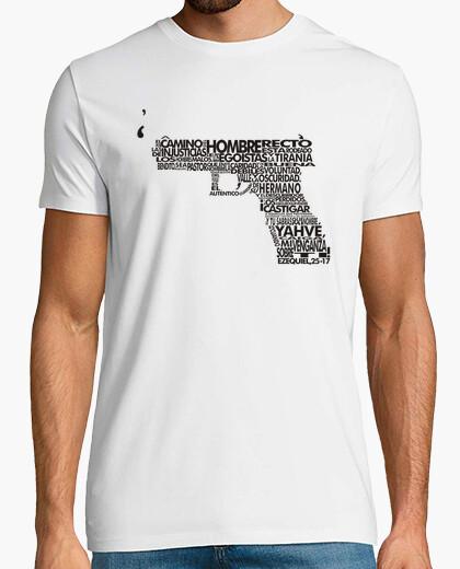 Camiseta Pulp Fiction - Ezequiel [Blanca]