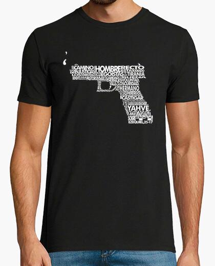 Camiseta Pulp Fiction - Ezequiel [Negra]