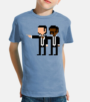 Pulp Fiction 8bit (Camiseta Niño)
