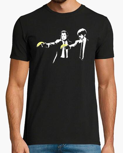 Camiseta Pulp Fiction banksy friki cine