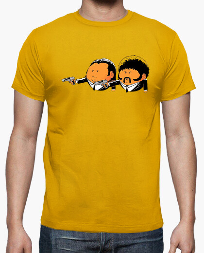 Pulp Fiction cine parodia camisetas friki