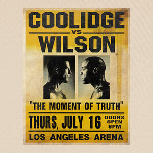 Tee-shirts Pulp Fiction: Coollidge vs. Wilson