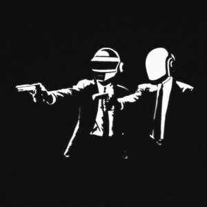 Camisetas Pulp Fiction Daft Punk friki cine