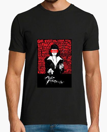 Camiseta Pulp Fiction Drugs