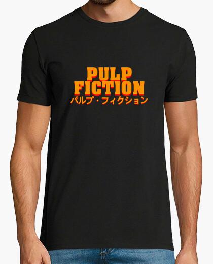 Tee-shirt pulp fiction (japonais)
