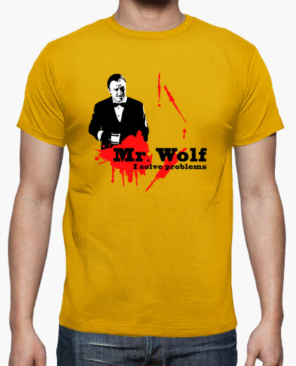 Tee-shirt Pulp Fiction: Mr. Wolf