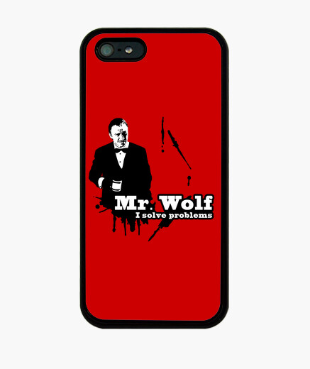Pulp fiction: mr. wolf iphone cases