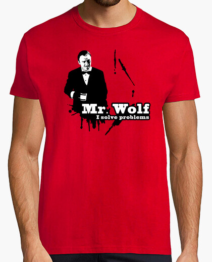 Pulp fiction: mr. wolf t-shirt