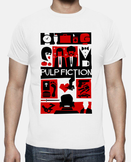 Pulp Fiction (Saul Bass Style)