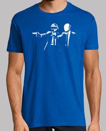 Pulp Fiction Star Wars cine parodia camisetas friki