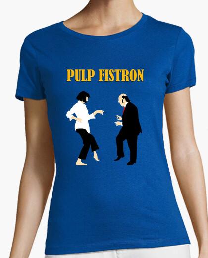 Camiseta Pulp Fistron Texto, Mujer