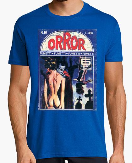 Camiseta Pulp Horror Comic 12
