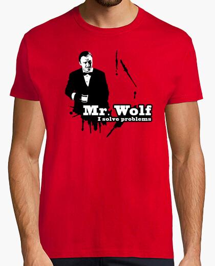 T-shirt pulp narrativa: mr. lupo