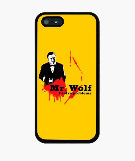 Cover iPhone pulp narrativa: mr. lupo