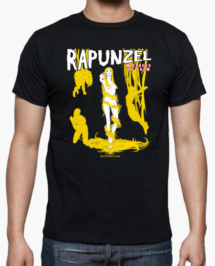 Pulp princess - rapunzel t-shirt