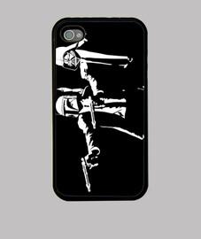 Pulp Troopers Black - iPhone 4/4S