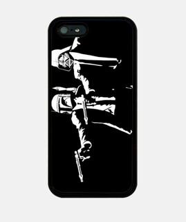 Pulp Troopers Black - iPhone 5