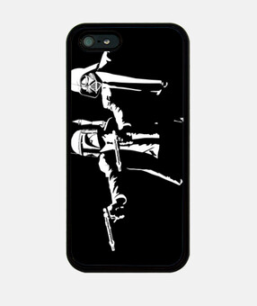 Pulp Troopers Black - iPhone 5
