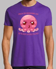 Pulpo Cabreado Camiseta Hombre