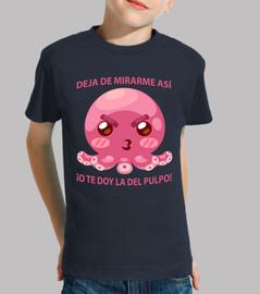 Pulpo Cabreado Camiseta Niño