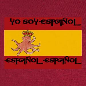 Camisetas Pulpo España Futbol Eurocopa Español Cam
