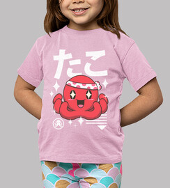 pulpo kawaii
