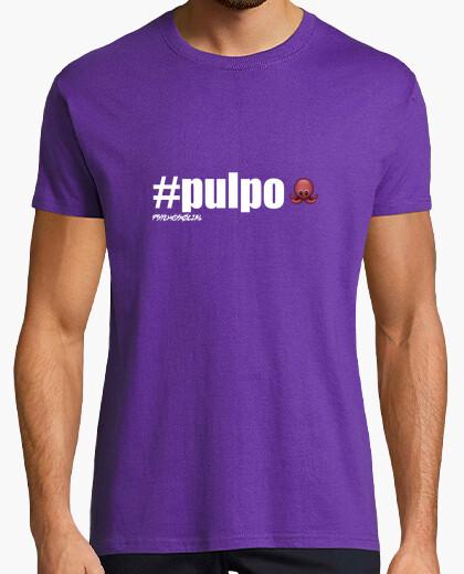 Camiseta #pulpo [White] - Psychosocial