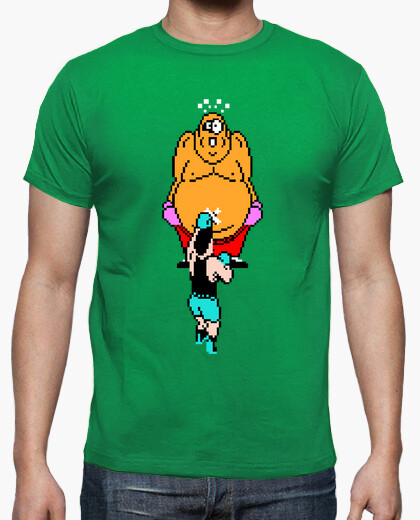 Punch out: king hippo t-shirt