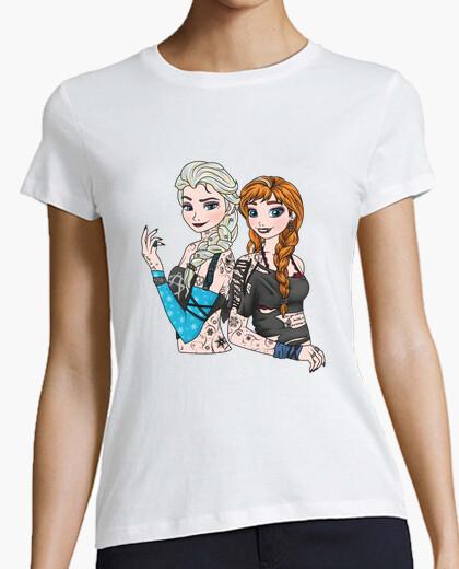 Camiseta Punk Anna and Elsa
