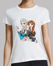 Punk Anna and Elsa