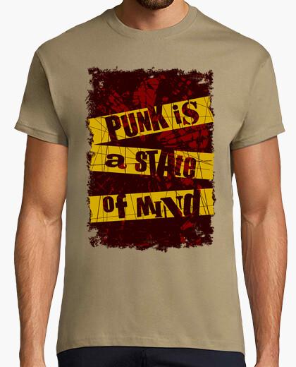 Camiseta Punk is a state of mind (versión b)