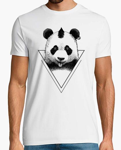Camiseta Punk Panda hipster