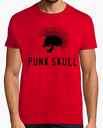 Camiseta Punk skull