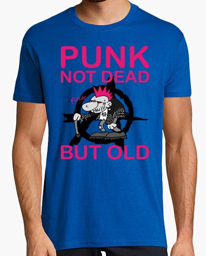 Camiseta punky de edad