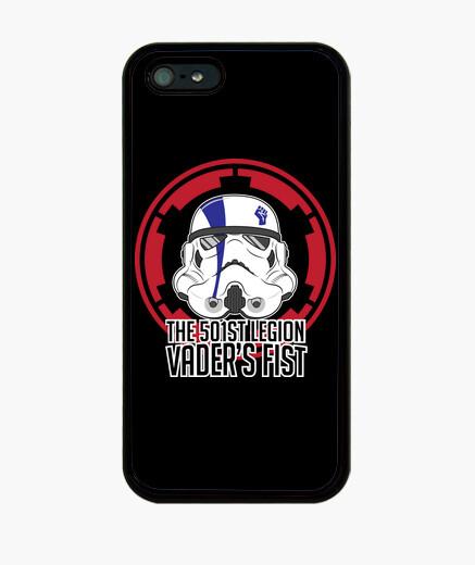 Funda iPhone puño invasores