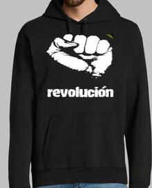 Puño revolucionario (Blanco)