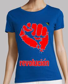 Puño revolucionario (Rojo)