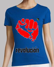 Puño revolucionario (Rojo y Negro)