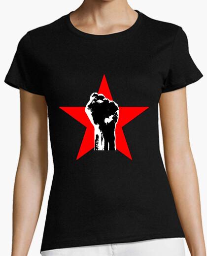 Camiseta PUÑO ROJO