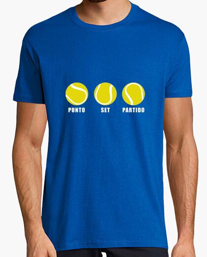 Camiseta Punto, set y partido