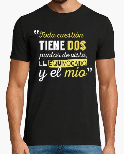 Camiseta Puntos De Vista Hombre (Fondo Oscuro)