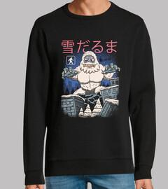 pupazzo di neve di kaiju