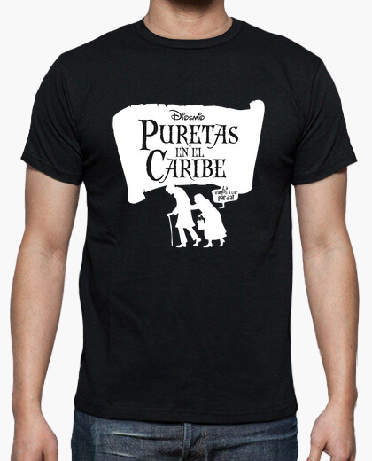 Purete in the caribbean t-shirt