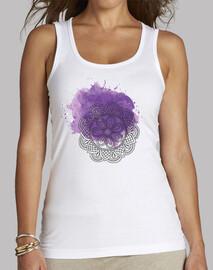 Purple mandala