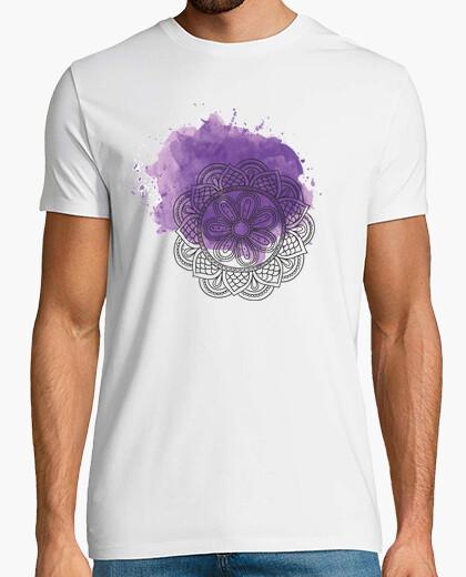 Camiseta Purple mandala