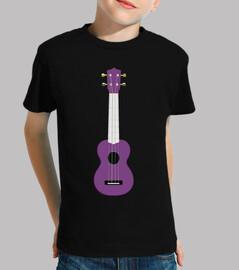 purple ukulele / guitar / mini / music